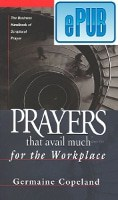 Prayers That Avail Much for the Workplace Digital Download – ePub Format